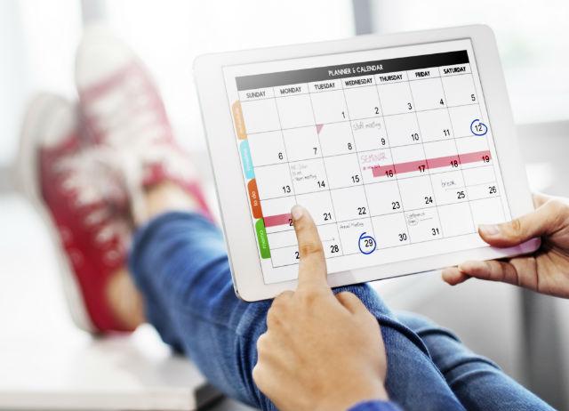 Terminkalender Vorausbuchung